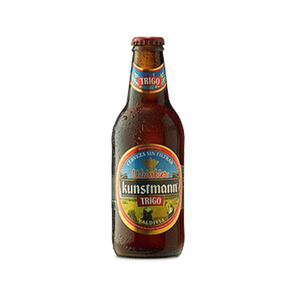 Cerveza Kunstmann de Trigo Botella 330cc