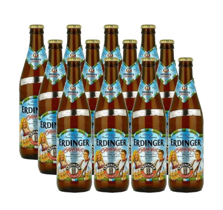 12x Cerveza Erdinger Oktoberfest en Botellas de 500cc