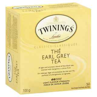 Té Twinings Earl Grey 50 Bolsitas