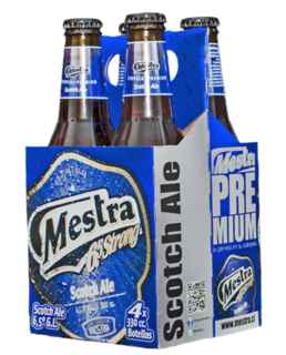 4x Cerveza Mestra Scotch en Botellas 330cc