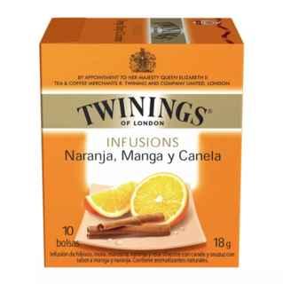 Te Twinings Naranja / Mango / Canela 10 Bolsitas