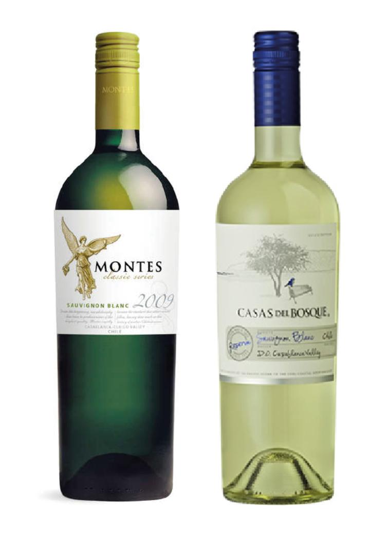 Montes Classic Sauvignon Blanc 750cc + Casas Del Bosque Reserva Sauvignon Blanc