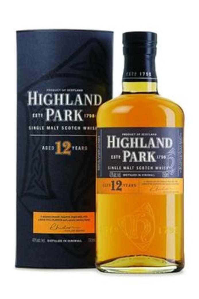 Whisky Highland Park 12 Años 40º 700cc