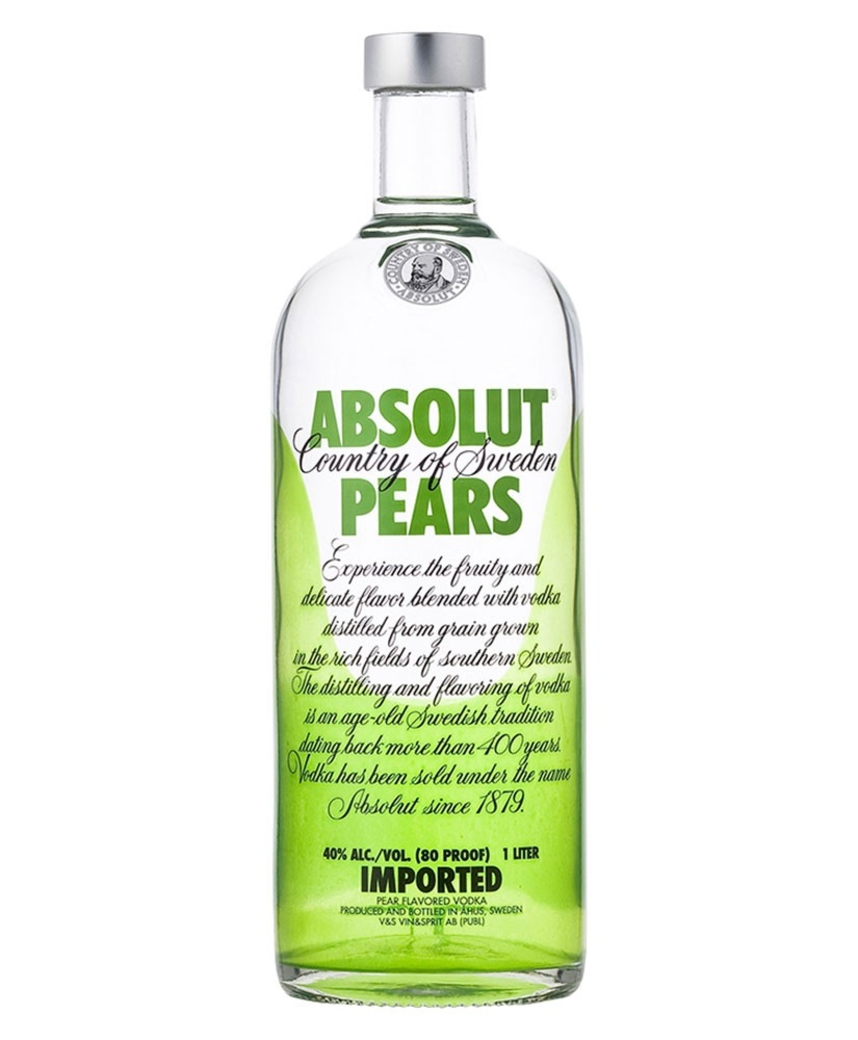 Vodka Absolut Pears 750cc