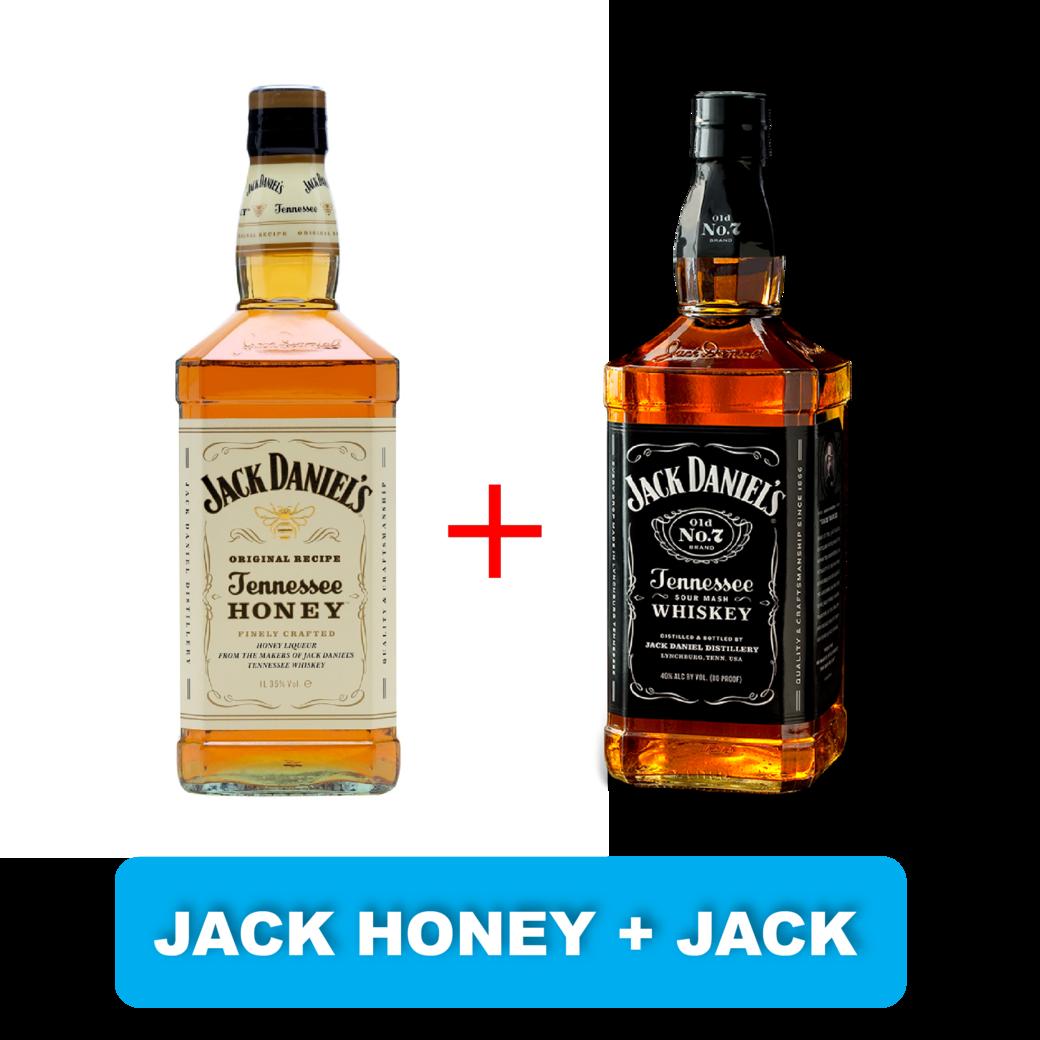 Jack Daniels Honey 750cc + Jack Daniels N7 750cc