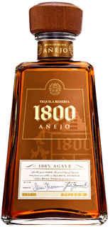 Tequila 1800 Añejo 100% Agave 750cc