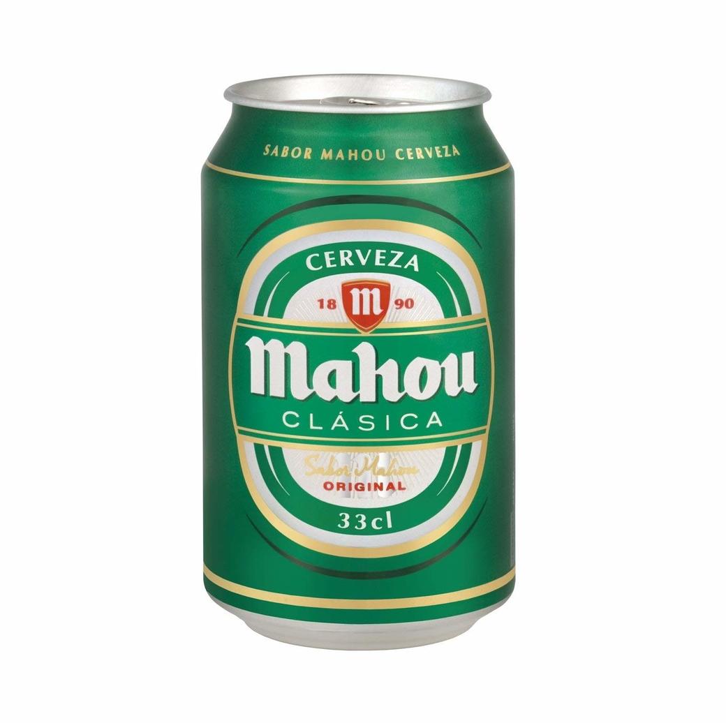 Cerveza Mahou Clásica en Lata 330cc