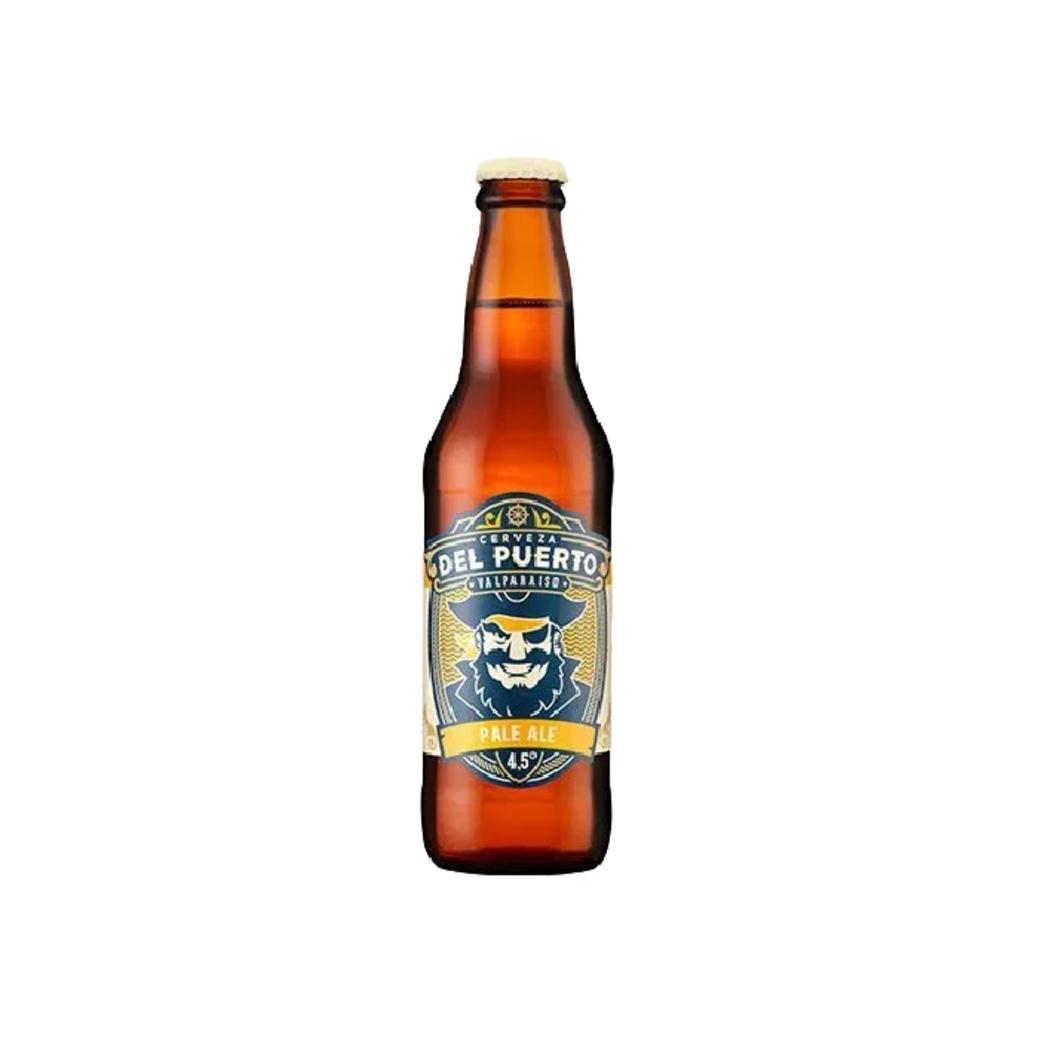 Cerveza Del Puerto Pale Ale en Botella 330cc