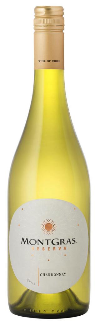 Vino Montgras Reserva Chardonnay 750cc