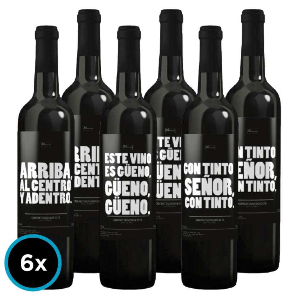 6x Vino Dichos Chilenos Gran Reserva Carmenere 750cc