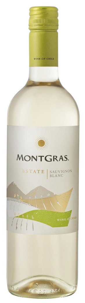 Vino Montgras Estate Sauvignon Blanc 750cc