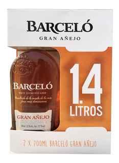 2x Ron Barcelo Añejo 700cc 37,5º alc.