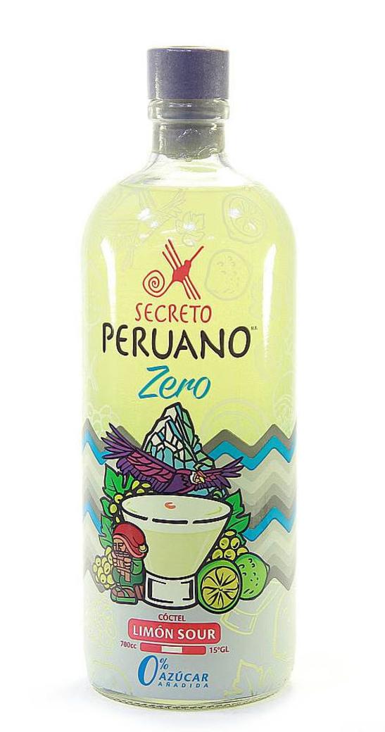 Pisco Sour Secreto Peruano Limón Zero 700cc