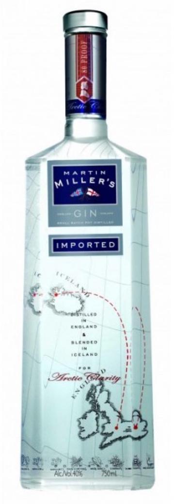 Gin Martin Millers 40º 700cc 40º alc.
