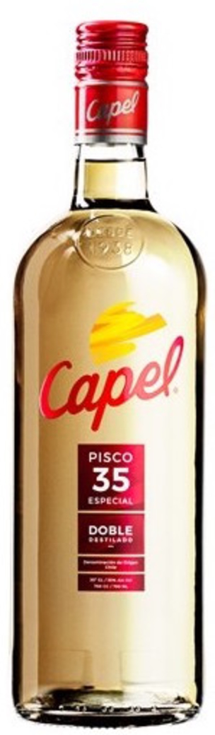 Pisco Capel 35 grados Doble Destilado 750cc