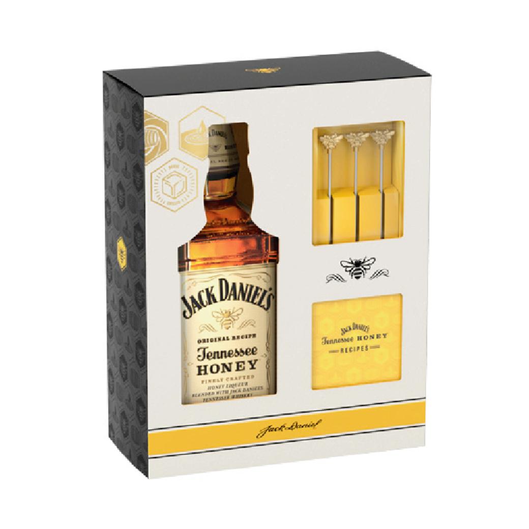 Whiskey Jack Daniels Tennessee Honey 750cc + Revolvedor