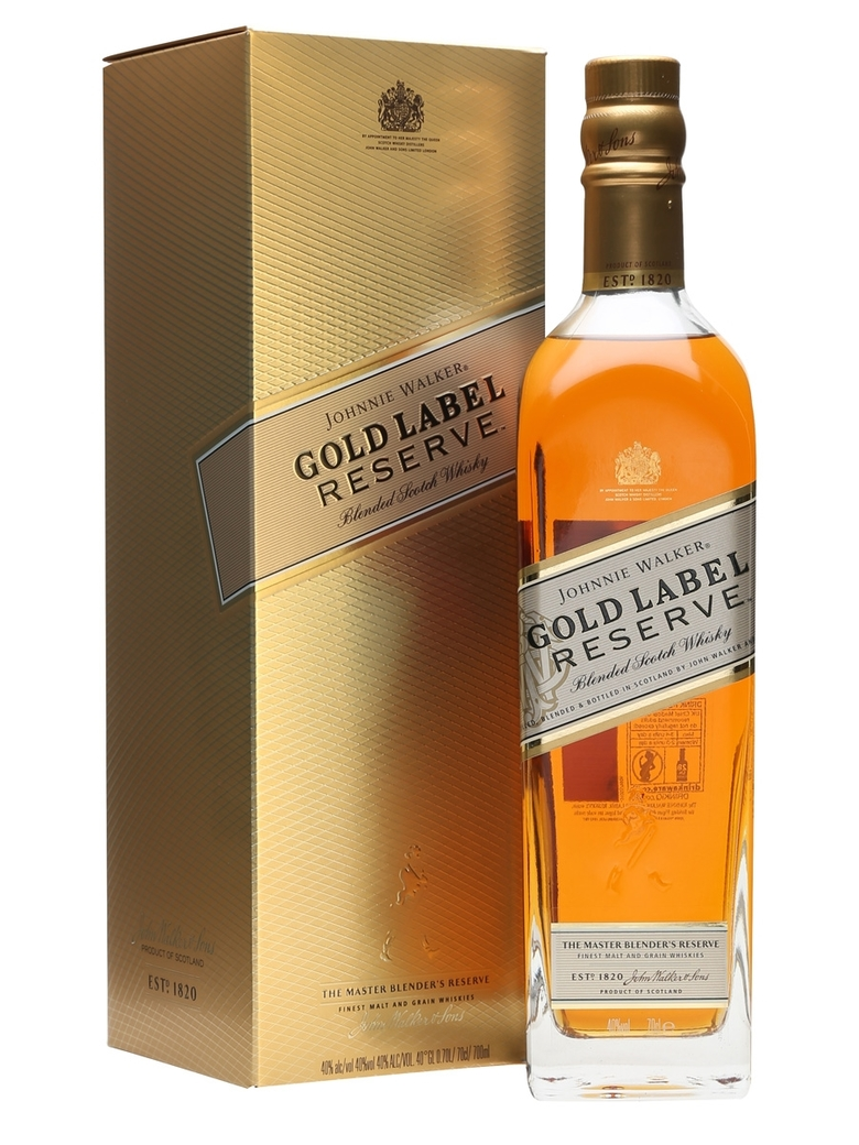 Whisky Johnnie Walker Gold Reserve 750cc 40º alc.
