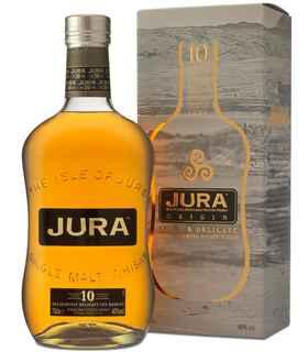Whisky Jura 10 años 700cc 40º alc.