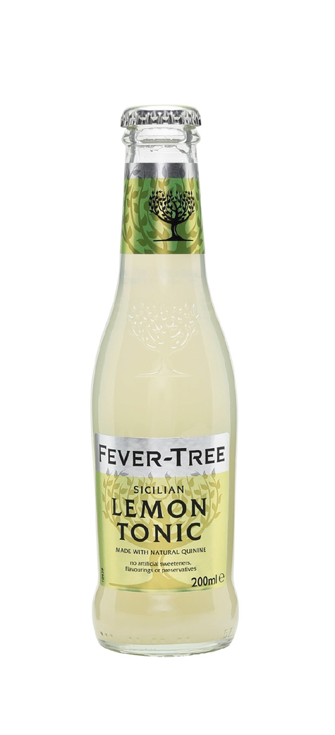 Agua Tónica Fever Tree Sicilian Lemon 200cc