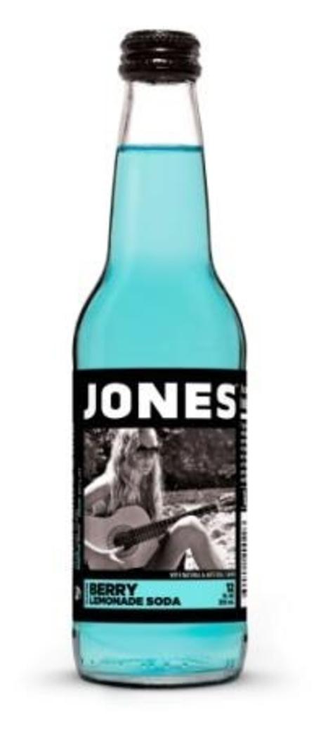 Jones Berry-Lemonade Soda 355cc