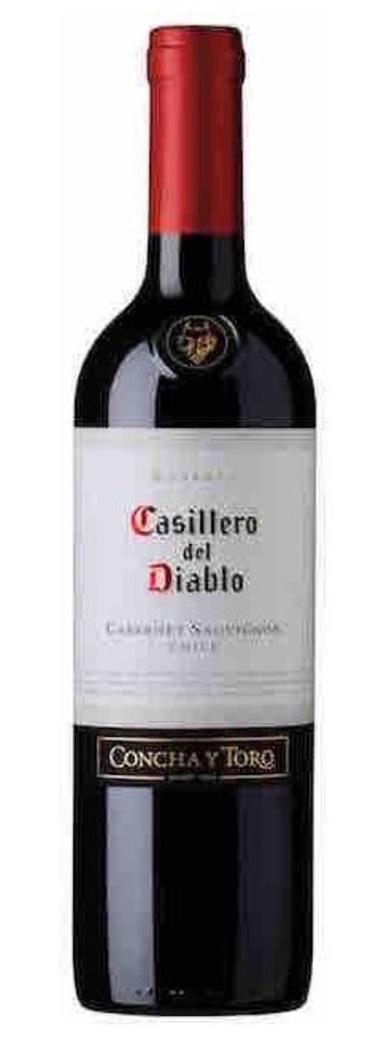Vino Casillero del Diablo Cabernet Sauvignon 750cc