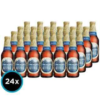 24x Cerveza Austral Calafate en Botellas 330cc