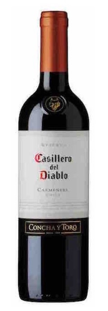 Vino Casillero del Diablo Carmenere 750cc