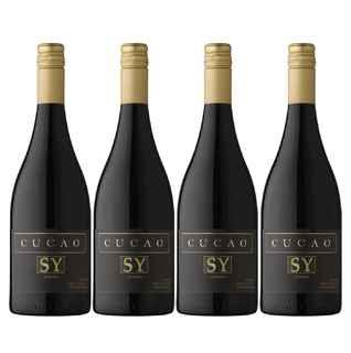 4x Vino Cucao Reserva Syrah 750cc