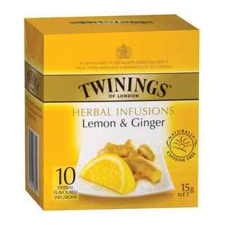 Te Twinings Limón y Jengibre 10 Bolsitas