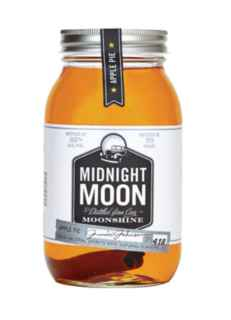 Whiskey Midnight Moon Apple Pie 750cc 35º alc.