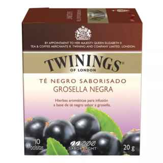 Té Twinings Blackcurrant 10 Bolsitas
