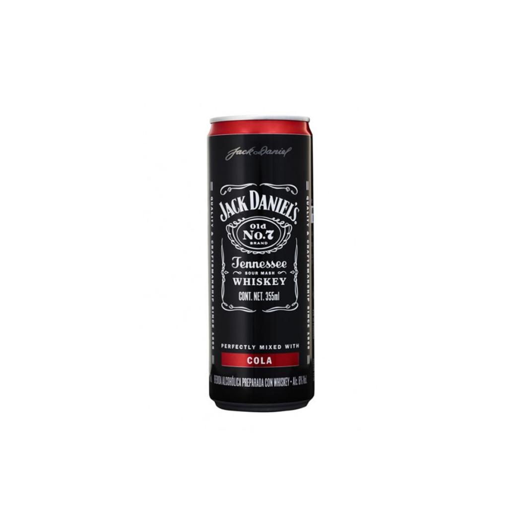 Whiskey Jack Daniel's Lata Cola 355cc