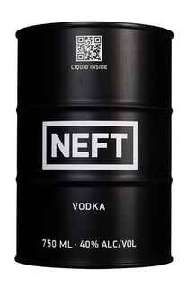 Vodka NEFT Original Black 750cc 40º alc.