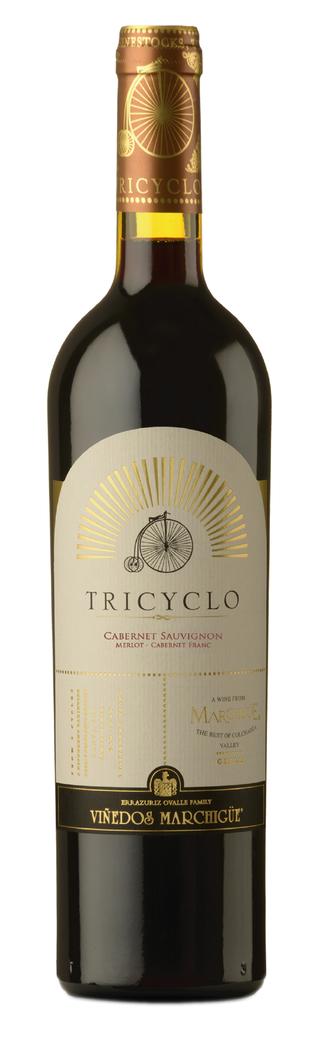 Vino Tricyclo (Cabernet Sauvignon - Merlot - Cabernet Franc) 750cc