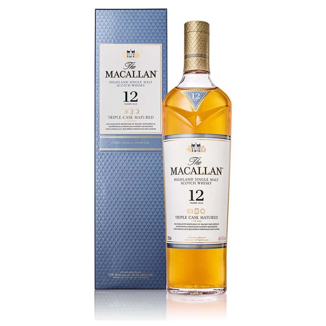 Whisky The Macallan Triple Cask 12 Años 700cc