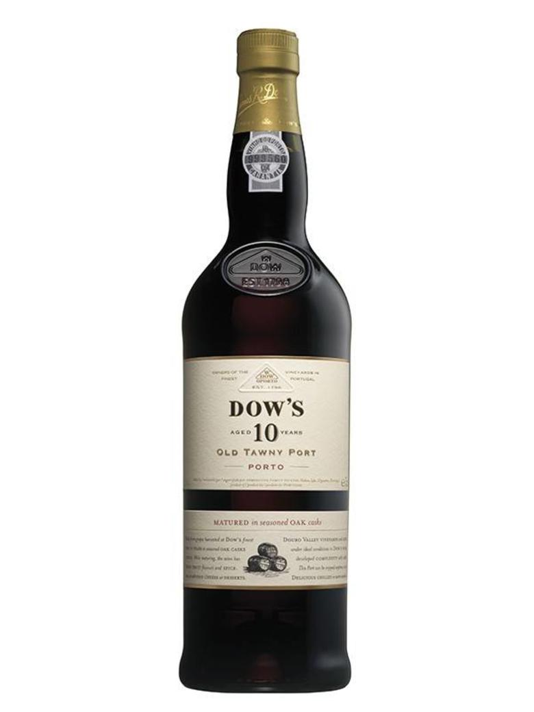 Vino Dows 10 años Oporto 750cc