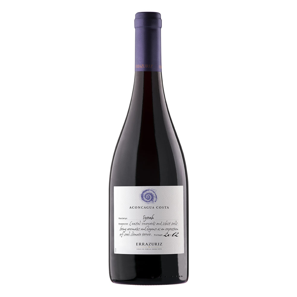 Vino Errazuriz Aconcagua Costa Syrah Single Vineyard 750cc