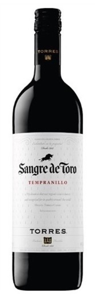 Vino Sangre de Toro Tempranillo 750cc