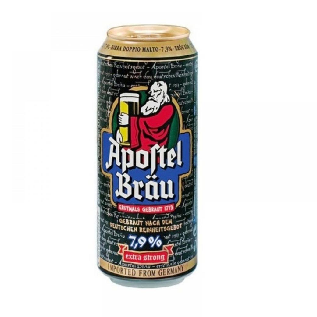 Cerveza Apostel Brau Strong 7.9º alc. 500cc