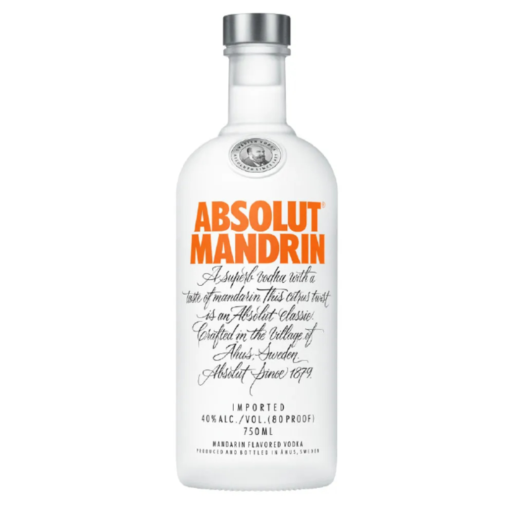 Vodka Absolut Mandrin 750cc 40º alc.