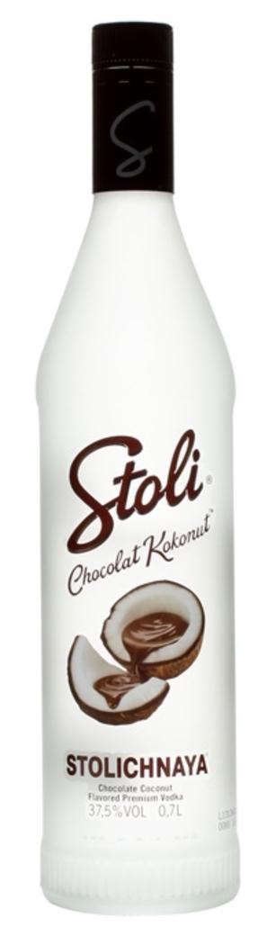 Vodka Stolichnaya Chocolat Kokonut 750cc