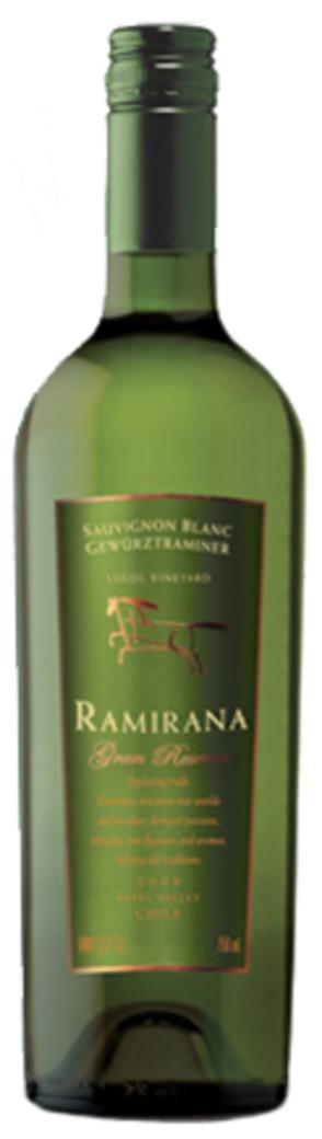 Vino Ventisquero Ramirana Gran Reserva Sauvignon Blanc / GEWÜRTZTRAMINER 750cc