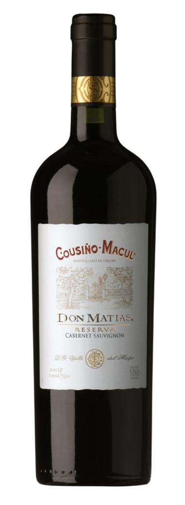 Vino Cousiño Don Matias Reserva Cabernet Sauvignon 750cc