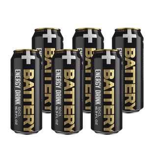 6x Bebida Energetica Battery 500cc