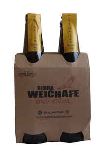 4x Birra Weichafe Antu Weizen Weißbier 330cc