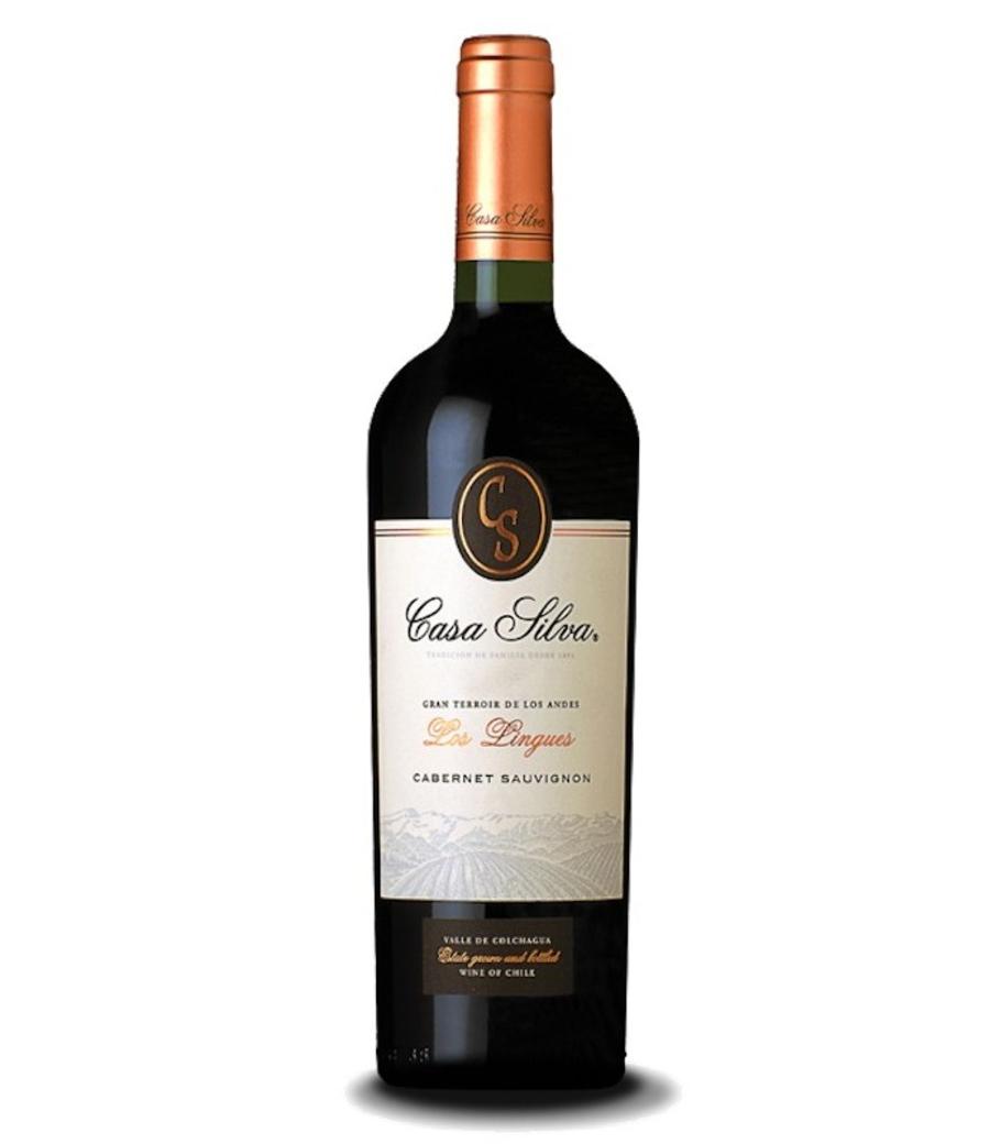 Vino Casa Silva Gran Terroir Cabernet Sauvignon 750cc