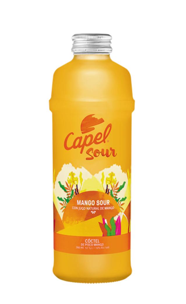Pisco Capel Mango Sour 700cc 12º alc.