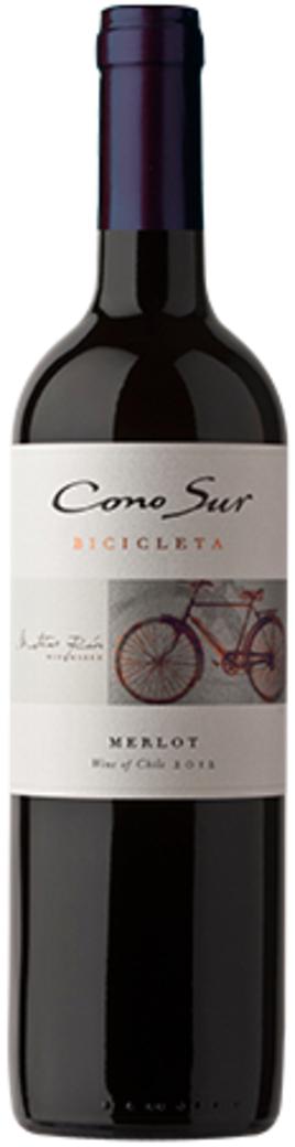 Vino Cono Sur Merlot Bicicleta 750cc