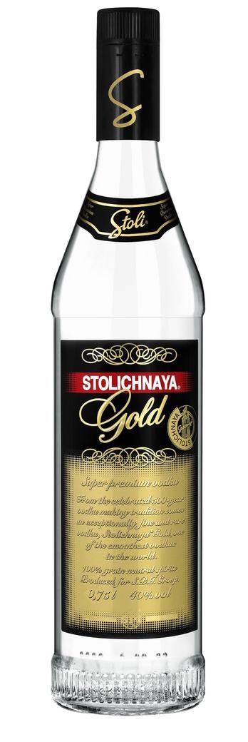 Vodka Stolichnaya Gold 750cc