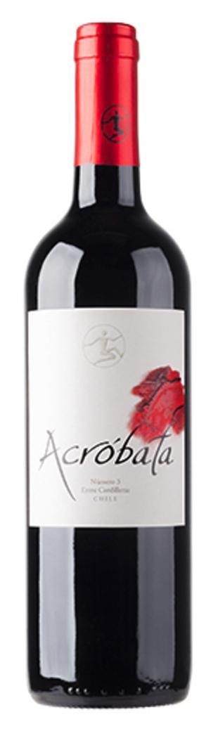Vino Acróbata (Cabernet Sauvignon / Carmenere) 750cc